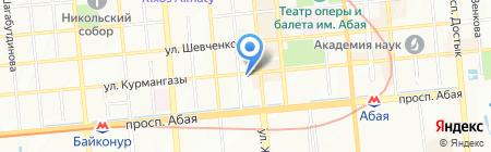 Czech Elite Tour на карте Алматы