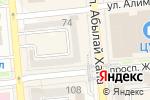 Схема проезда до компании ТЕХОТДЕЛ в Алматы