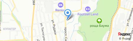 Еркем на карте Алматы