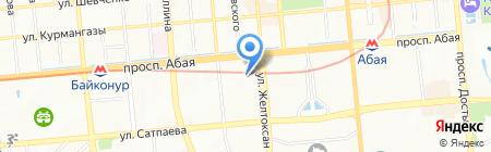 Selfie Bar & Club на карте Алматы