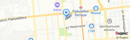 АвангардСпецодежда Казахстан на карте Алматы