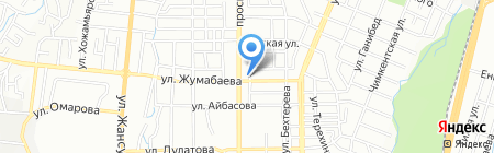 Адлет на карте Алматы