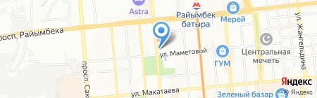 Автокуб на карте Алматы
