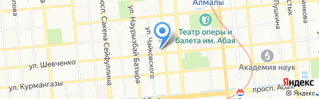 Пивоварофф на карте Алматы