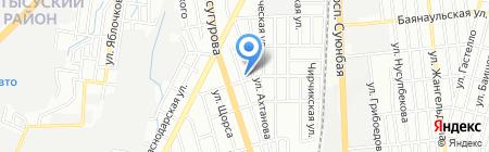 Нива на карте Алматы