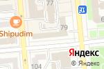 Схема проезда до компании Объединение юридических лиц Союз проектных менеджеров Республики Казахстан в Алматы