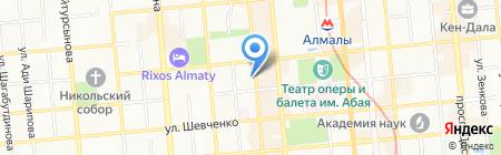 Артист на карте Алматы