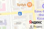 Схема проезда до компании Pictor в Алматы