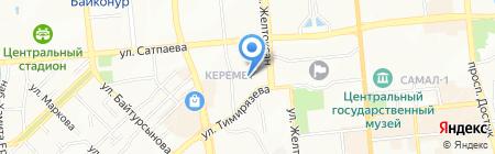 Yanush Gioielli на карте Алматы