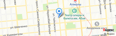 VR на карте Алматы