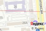 Схема проезда до компании Silver bar & karaoke в Алматы