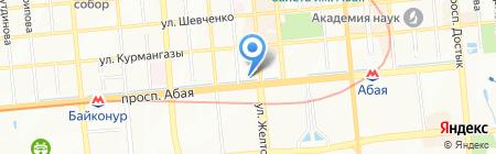 Казахстанская ассоциация эстетической медицины и пластической хирургии на карте Алматы