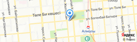 EUROLUX SYSTEM на карте Алматы