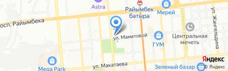 Alma Bike на карте Алматы