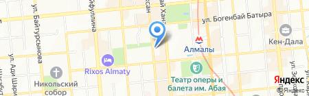 ЭкоДар на карте Алматы