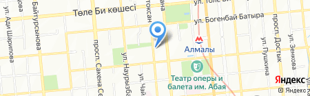 Clean на карте Алматы