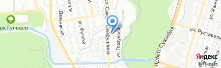 Agatai на карте Алматы