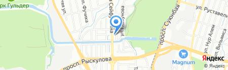 Казахстанский гомеопатический медицинский центр на карте Алматы
