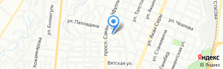 Алем НС на карте Алматы