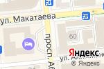 Схема проезда до компании Прогресс-С в Алматы