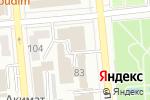 Схема проезда до компании Lingua Mundi в Алматы