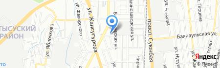 BEST POWER на карте Алматы