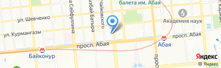 Arte ITALIANA на карте Алматы