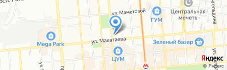 MGA group Almaty на карте Алматы