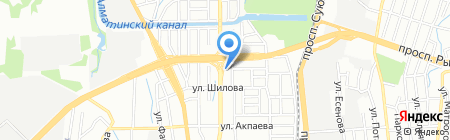 EXPERT OIL на карте Алматы