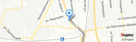 СПК на карте Алматы