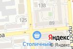 Схема проезда до компании Жаным в Алматы