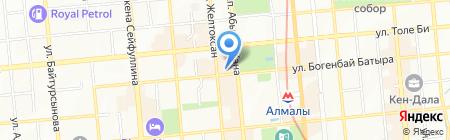 BVLGARI на карте Алматы