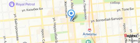 Vertu на карте Алматы