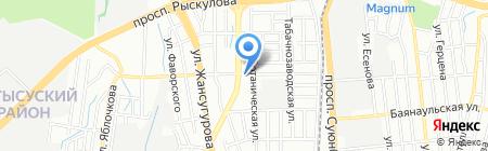 Жетысуский районный суд по гражданским делам г. Алматы на карте Алматы