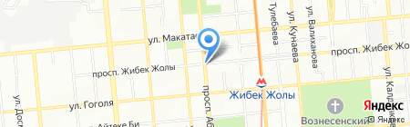 Red Dragon Almaty на карте Алматы