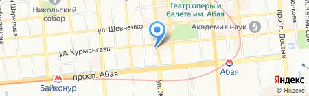 Baby in car на карте Алматы