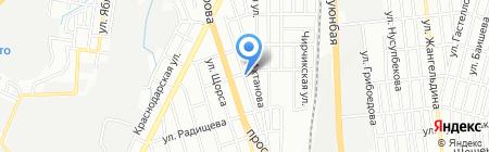 Avto Comfort на карте Алматы