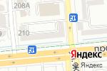 Схема проезда до компании laFABBRICA в Алматы