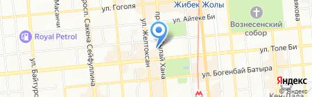 Банкомат Народный Банк Казахстана на карте Алматы