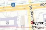 Схема проезда до компании Синий слон в Алматы