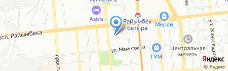 Участковый пункт полиции №34 Алмалинского района на карте Алматы