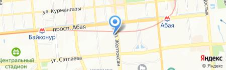 Банкомат Нурбанк на карте Алматы