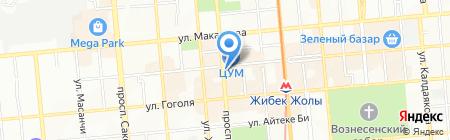 CITY на карте Алматы