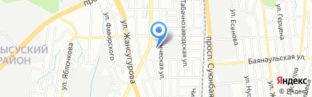 Ан Сапсан Транс на карте Алматы