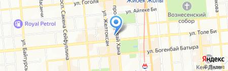 Управление финансов г. Алматы на карте Алматы