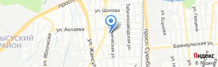 Флагман на карте Алматы