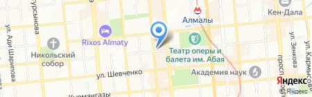 Camilun на карте Алматы