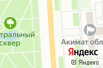 Схема проезда до компании Pavlodar-online в Павлодаре