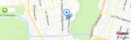 Кудирет-Секьюрити на карте Алматы