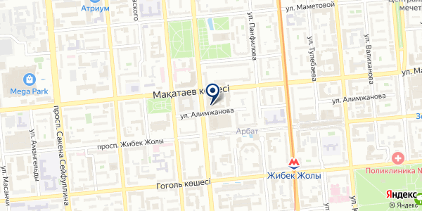Lanch box на карте Алматы